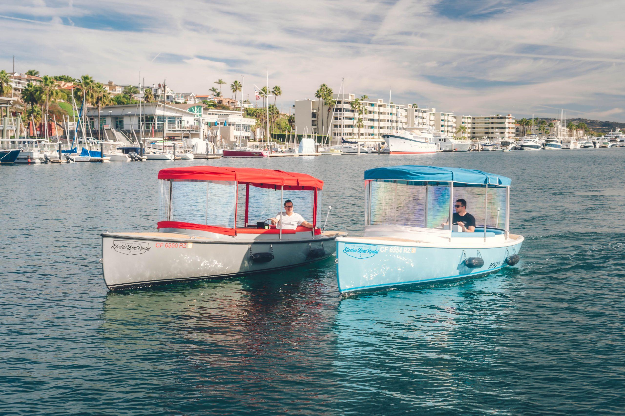 Newport Beach Electric Boats Al